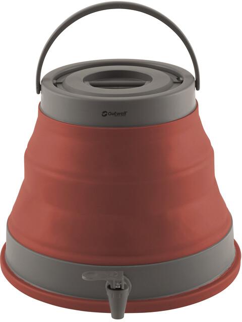 Outwell Collaps Pojemnik na wodę  szary/czerwony